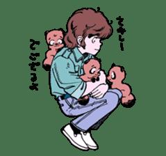 TANUKI vol.1 sticker #10299402