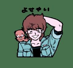 TANUKI vol.1 sticker #10299404