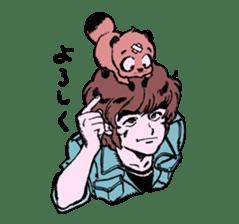 TANUKI vol.1 sticker #10299409