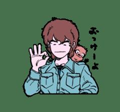 TANUKI vol.1 sticker #10299417