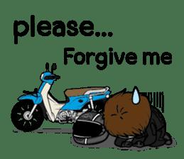 Freeman Rider V.4 (Eng) sticker #10302085