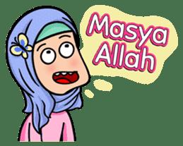 Funny Hijabi sticker #10302986