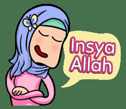 Funny Hijabi sticker #10302988