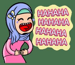 Funny Hijabi sticker #10302995