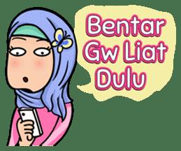 Funny Hijabi sticker #10303016