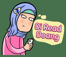 Funny Hijabi sticker #10303018