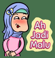 Funny Hijabi sticker #10303023