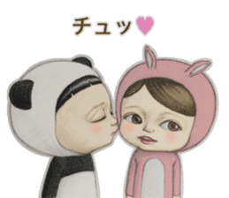 Kiyo & Masaru sticker #10304702