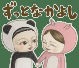 Kiyo & Masaru sticker #10304703