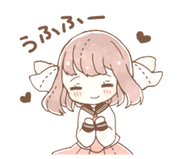 YURUFUWA girls sticker #10305664