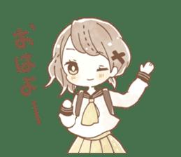 YURUFUWA girls sticker #10305665