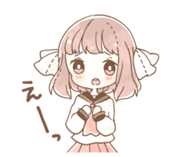 YURUFUWA girls sticker #10305668