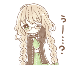 YURUFUWA girls sticker #10305670