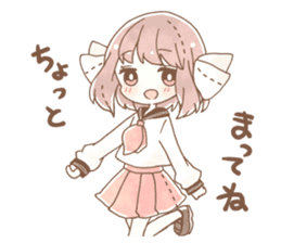 YURUFUWA girls sticker #10305672