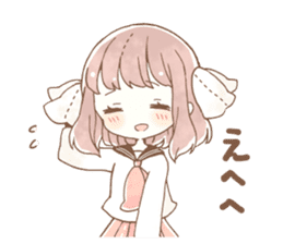 YURUFUWA girls sticker #10305676