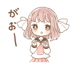 YURUFUWA girls sticker #10305680