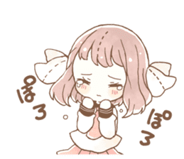 YURUFUWA girls sticker #10305684