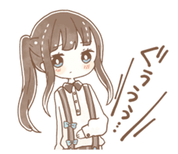 YURUFUWA girls sticker #10305695