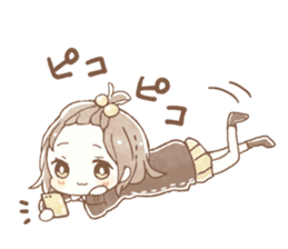 YURUFUWA girls sticker #10305697