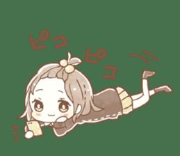 YURUFUWA girls sticker #10305697