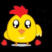 สติ๊กเกอร์ไลน์ ลูกไก่แจ้