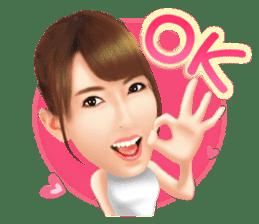 Yui Hatano Official Sticker!!!! sticker #10306553