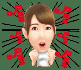 Yui Hatano Official Sticker!!!! sticker #10306558