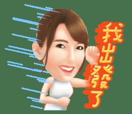 Yui Hatano Official Sticker!!!! sticker #10306565
