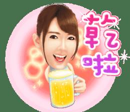 Yui Hatano Official Sticker!!!! sticker #10306577
