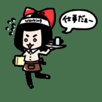 Powerful HA-Chan's sticker. sticker #10307269