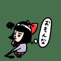 Powerful HA-Chan's sticker. sticker #10307291