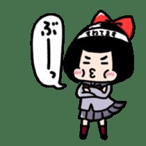 Powerful HA-Chan's sticker. sticker #10307299