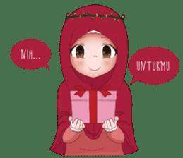 Kartun Muslimah sticker #10307833