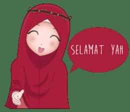 Kartun Muslimah sticker #10307838