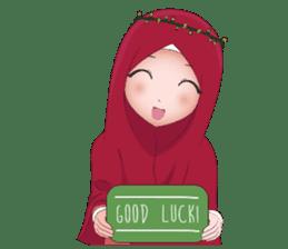 Kartun Muslimah sticker #10307852
