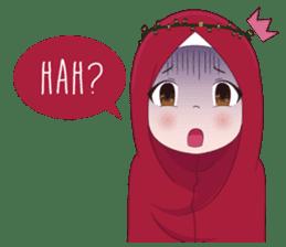 Kartun Muslimah sticker #10307854