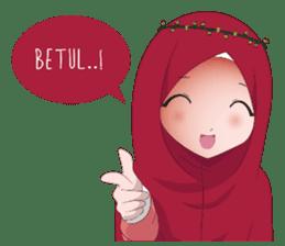 Kartun Muslimah sticker #10307858