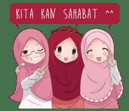 Kartun Muslimah sticker #10307862