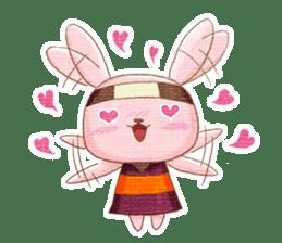 Ninja HANNARI chan(English) sticker #10309533