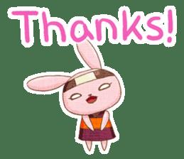 Ninja HANNARI chan(English) sticker #10309537