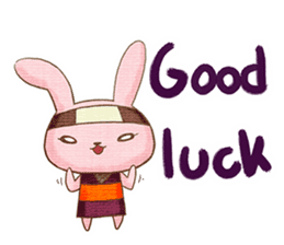 Ninja HANNARI chan(English) sticker #10309546
