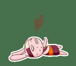 Ninja HANNARI chan(English) sticker #10309566