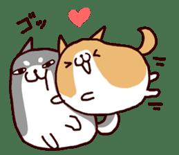 lazy shiba vol.5 sticker #10309688