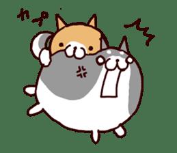 lazy shiba vol.5 sticker #10309702