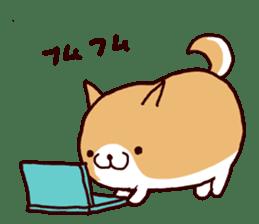 lazy shiba vol.5 sticker #10309709