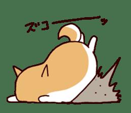 lazy shiba vol.5 sticker #10309710