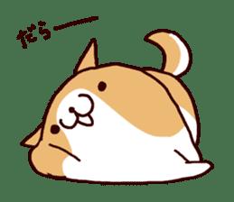 lazy shiba vol.5 sticker #10309712