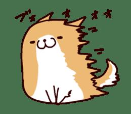 lazy shiba vol.5 sticker #10309720