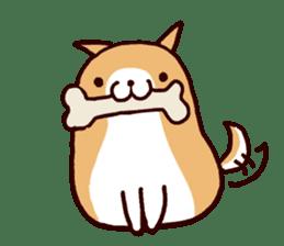lazy shiba vol.5 sticker #10309721
