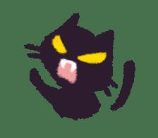 Little Black Cat Momo. sticker #10317104